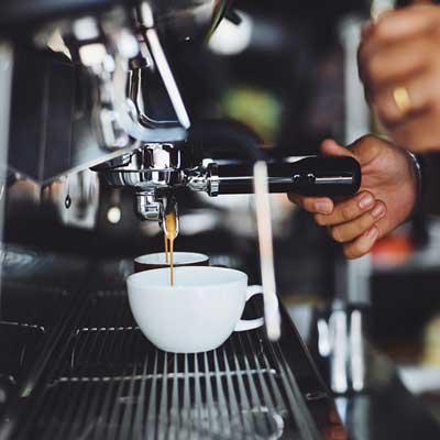 咖啡店咖啡机